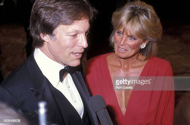 Actor Richard Chamberlain and actress Linda Evans attend the 12th Annual American Film Institute Lifetime Achievement Award Salute to Lillian Gish on...