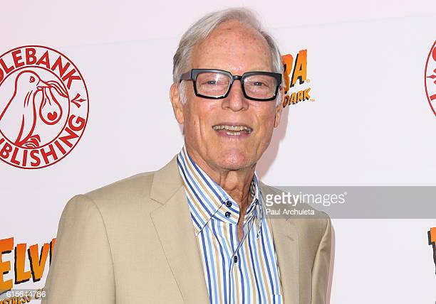 Actor Richard Chamberlain attends Cassandra Peterson's launch party for her new book 'Elvira Mistress Of The Dark' at The Hollywood Roosevelt Hotel...