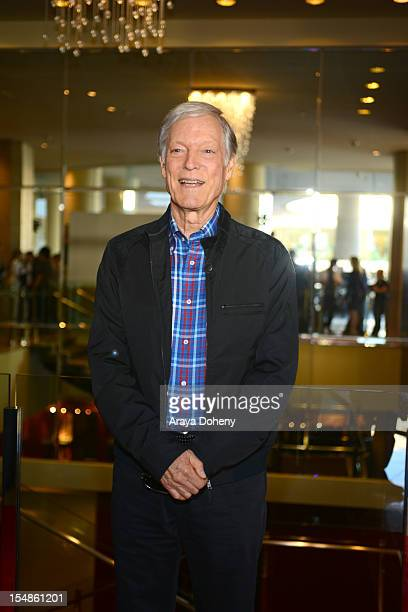 Actor Richard Chamberlain attends Friendly House LA Annual Awards Luncheon Gala at The Beverly Hilton Hotel on October 27 2012 in Beverly Hills...