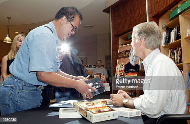 Richard Chamberlain Book Signing For Towards Love Stock Photos And