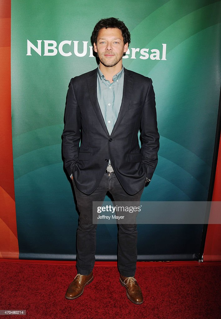 Actor Richard Coyle attends the 2015 NBCUniversal Summer Press Day held at the The Langham Huntington Hotel and Spa on April 02, 2015 in Pasadena, California.