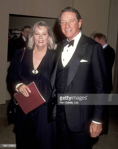 Actor Richard Crenna and wife Penni Sweeney attend the 19th Annual American Film Institute Lifetime Achievement Award Salute to Kirk Douglas on March...