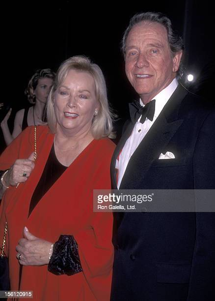 Actor Richard Crenna and wife Penni Sweeney attend the 26th Annual American Film Institute Lifetime Achievement Award Salute to Robert Wise on...