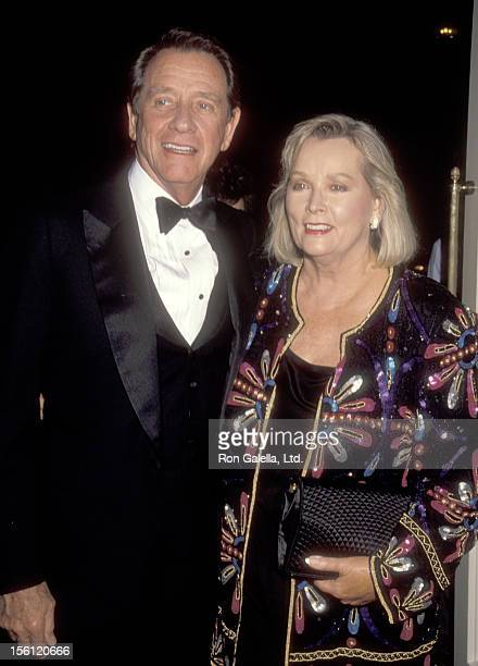 Actor Richard Crenna and wife Penni Sweeney attend the Academy of Television Arts and Sciences Presents the Seventh Annual Television Hall of Fame...