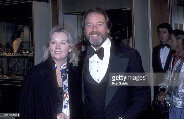 Actor Richard Crenna and wife Penni Sweeney attend the Sixth Annual American Film Institute Lifetime Achievement Award Salute to Henry Fonda on March...