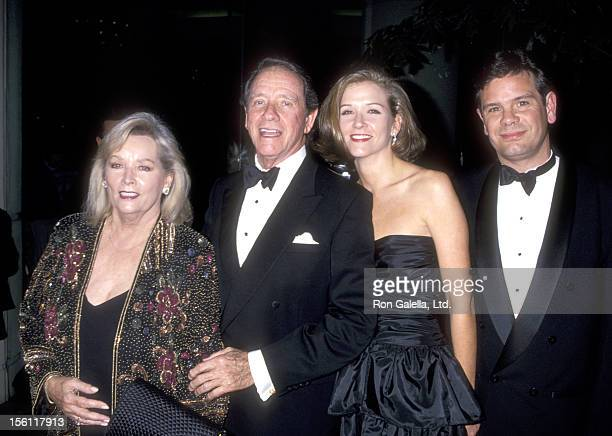 Actor Richard Crenna wife Penni Sweeny daughter Maria Crenna and her husband attend the 32rd Annual American Film Institute Lifetime Achievement...