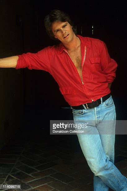 Actor Richard Dean Anderson poses for a portrait in c1985 in Los Angeles California