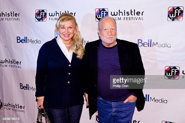 Actor Richard Dreyfuss and his wife Svetlana Erokhin arrive at the screening of Cas Dylan during the 13th Annual Whistler Film Festival on December 4...