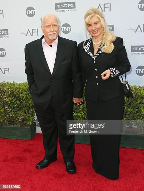 Actor Richard Dreyfuss and Svetlana Erokhin arrive at the American Film Institute's 44th Life Achievement Award Gala Tribute to John Williams at...