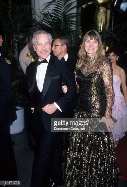 Actor Richard Dreyfuss and wife Jeramie Ryan at Academy Awards in March 1987 in Los Angeles California
