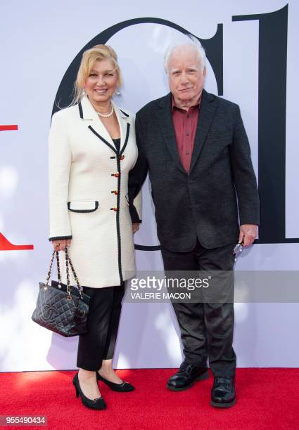 Actor Richard Dreyfuss and wife Svetlana Erokhin attend the Book Club premiere on May 6 2018 in Westwood California