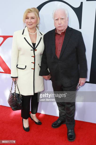 Actor Richard Dreyfuss and wife Svetlana Erokhin attends Paramount Pictures' Premiere Of 'Book Club' Red Carpet at Regency Village Theatre on May 6...