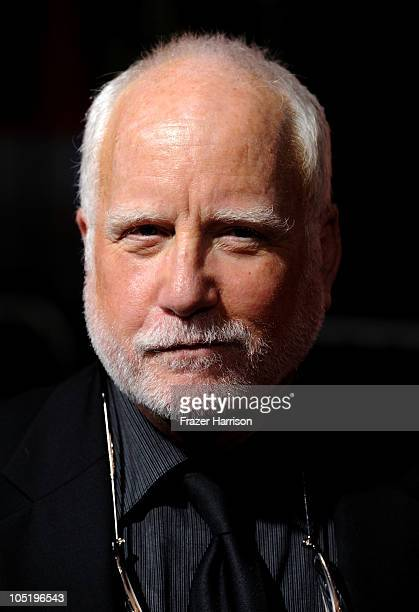 Actor Richard Dreyfuss arrives at a special screening of Summit Entertainment's 'RED' at Grauman's Chinese Theatre on October 11 2010 in Hollywood...