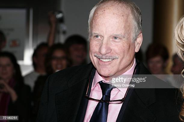 Actor Richard Dreyfuss arrives at the Kennedy Center's Ninth Annual Mark Twain Prize on October 15 2006 in Washington DC