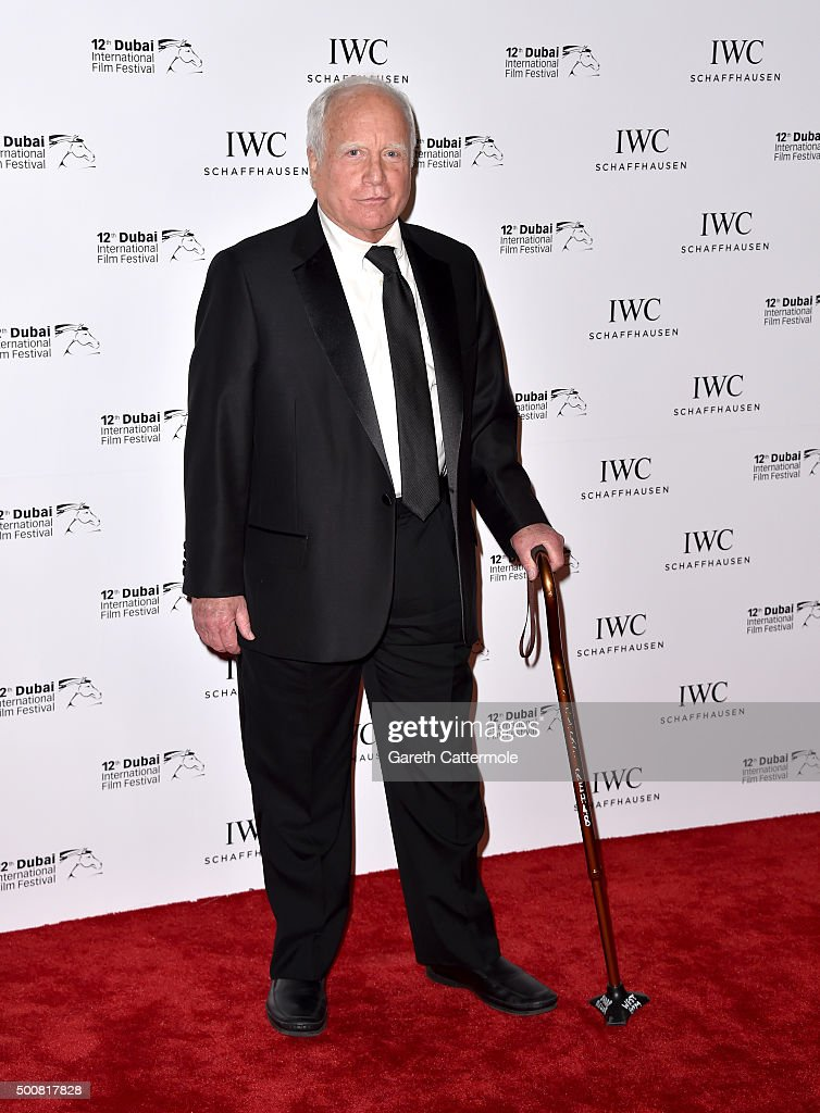 Actor Richard Dreyfuss attends the IWC Filmmakers Award during day two of the 12th annual Dubai International Film Festival held at The One and Only Mirage Hotel on December 10, 2015 in Dubai, United Arab Emirates.