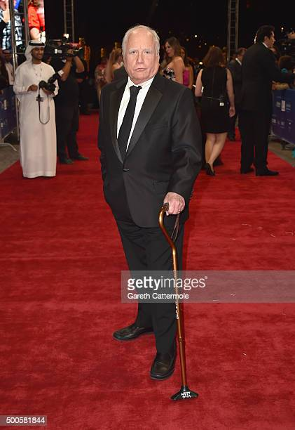 Actor Richard Dreyfuss attends the Opening Night Gala of 'Room' during day one of the 12th annual Dubai International Film Festival held at the...