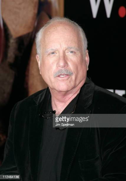 Actor Richard Dreyfuss attends the premiere of 'W' at the Ziegfeld Theatre on October 14 2008 in New York City