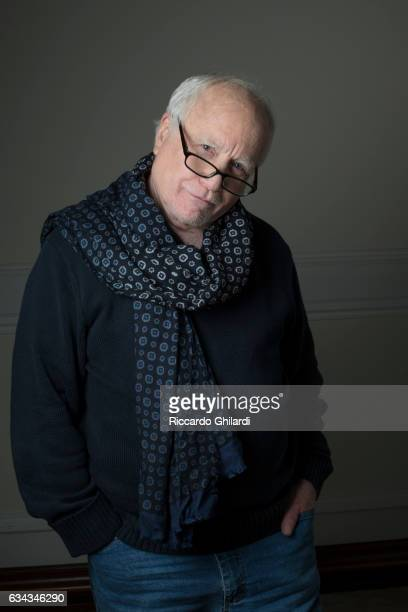 Actor Richard Dreyfuss is photographed for Self Assignment on December 11 2016 in Rome Italy