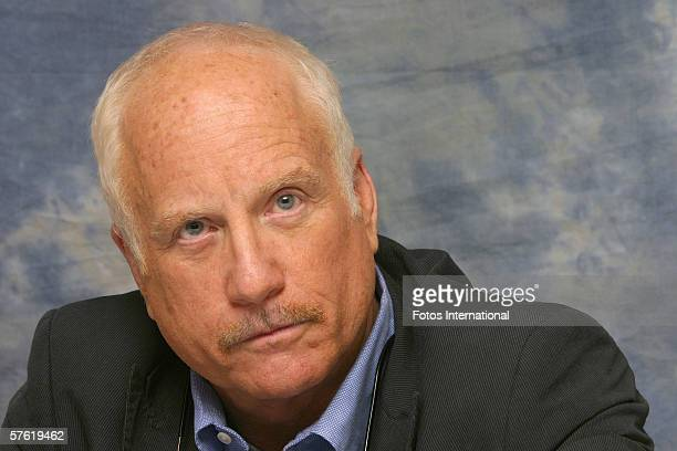 Actor Richard Dreyfuss talks at the Regent Beverly Wilshire Hotel on April 29 2006 in Los Angeles California