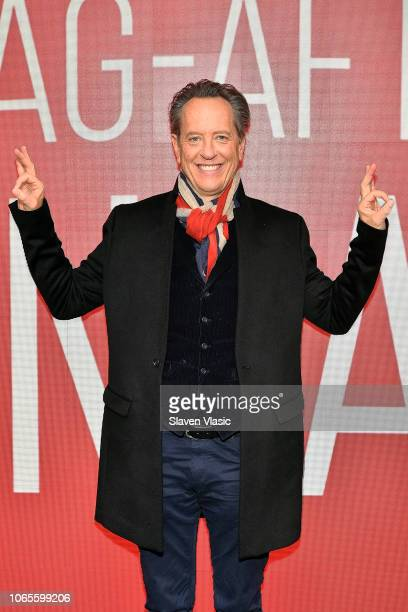 Actor Richard E Grant attends SAGAFTRA Foundation Conversations to discuss his latest biographical drama film Can You Ever Forgive Me at The Robin...