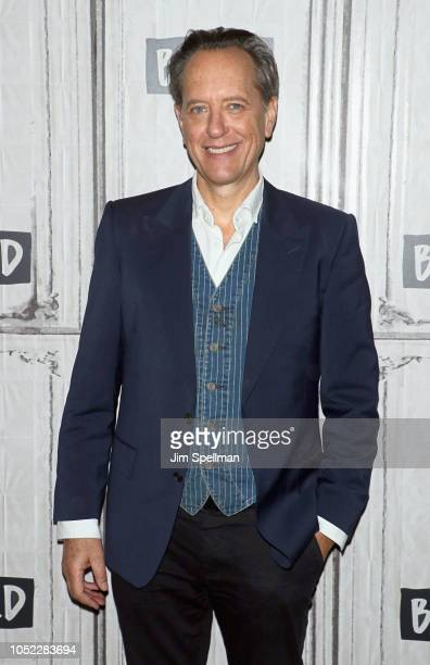 Actor Richard E Grant attends the Build Series to discuss Can You Ever Forgive Me at Build Studio on October 16 2018 in New York City