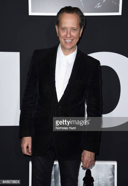 Actor Richard E. Grant attends the 'Logan' New York special screening at Rose Theater, Jazz at Lincoln Center on February 24, 2017 in New York City.