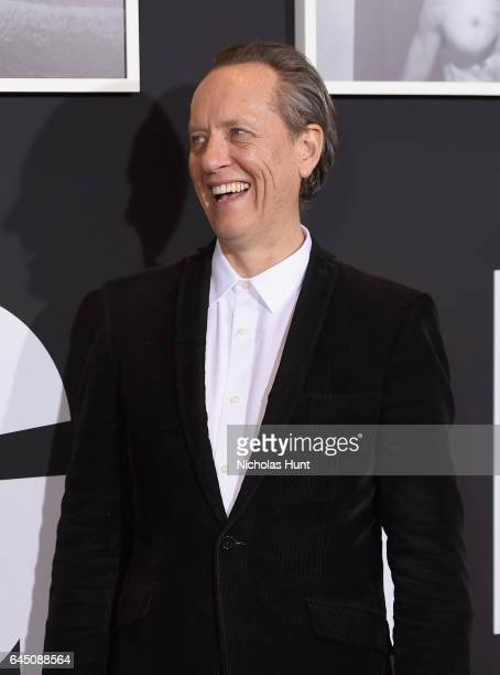 Actor Richard E Grant attends the 'Logan' New York special screening at Rose Theater Jazz at Lincoln Center on February 24 2017 in New York City