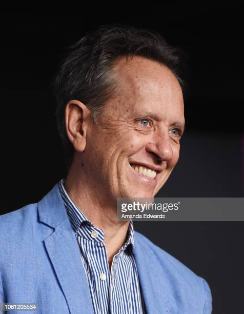 Actor Richard E Grant attends the SAGAFTRA Foundation Conversations Screening of Can You Ever Forgive Me at the SAGAFTRA Foundation Screening Room on...