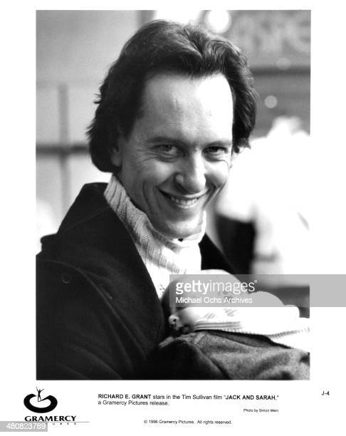 Actor Richard E Grant in a scene from the Gramercy movie Jack Sarah circa 1995