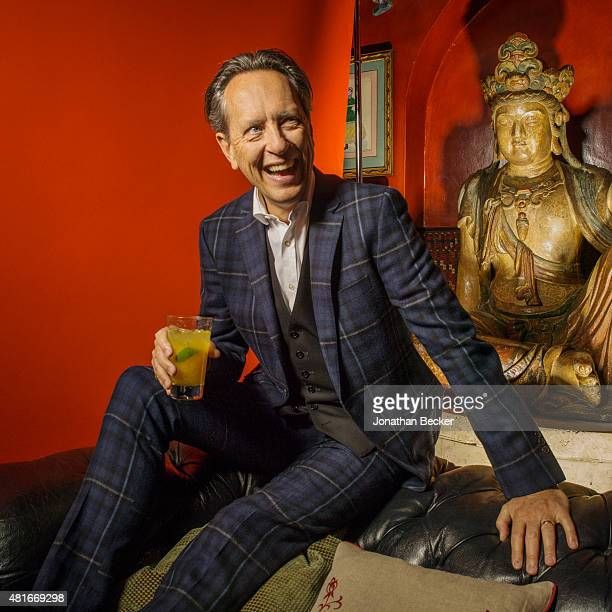 Actor Richard E Grant is photographed at the Charles Finch and Chanel's PreBAFTA on February 7 2015 in London England PUBLISHED IMAGE