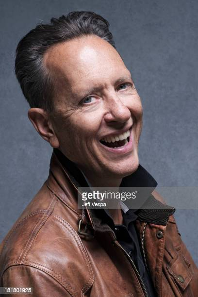 Actor Richard E Grant is photographed at the Toronto Film Festival on September 9 2013 in Toronto Ontario