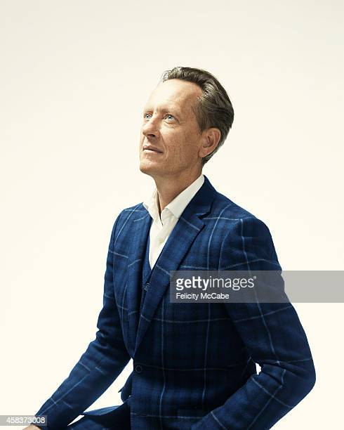 Actor Richard E Grant is photographed for Tatler magazine on January 30 2014 in London England