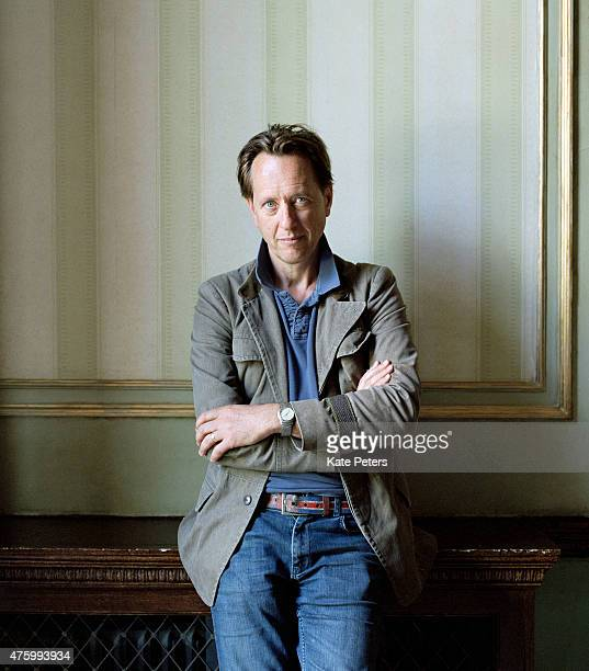 Actor Richard E Grant is photographed for the Telegraph on June 16 2012 in London England