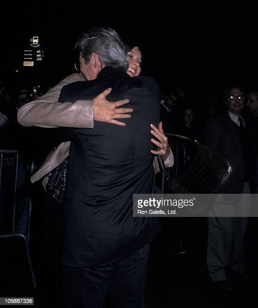 Actor Richard Gere and actress Carey Lowell attend the 'Dr T and the Women' New York City Premiere on October 10 2000 at Ziegfeld Theater in New York...