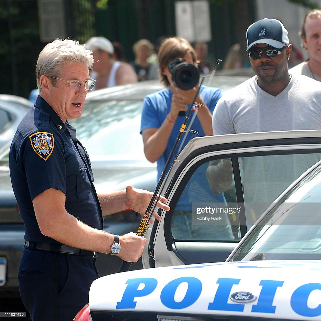 Richard Gere, Logan Marshall-Green And Antoine Fuqua On Location For 'Brooklyn's Finest' - July 7, 2008 : News Photo