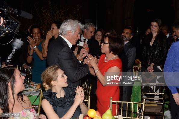 Actor Richard Gere And Misook Doolittle Attend The City Harvest 19th News Photo Getty Images