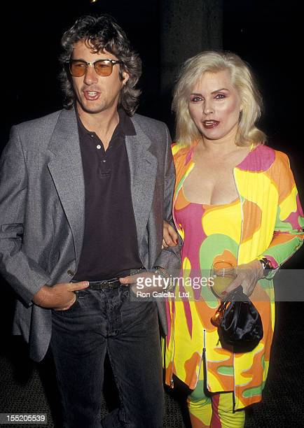 Actor Richard Gere and musician Debbie Harry of Blondie attend the 'Art Against AIDS' Cocktail Party and Auction to Benefit AIDS Research on June 4...