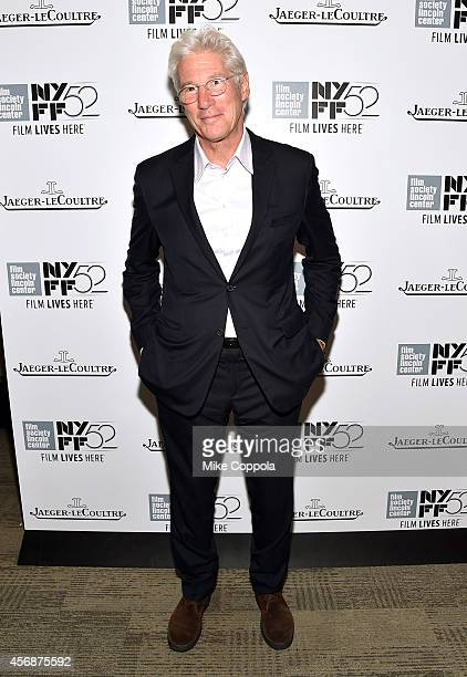 Actor Richard Gere attends an evening with Richard Gere presented by Film Society Of Lincoln Center and JaegerLeCoultre during the 52nd New York Film...