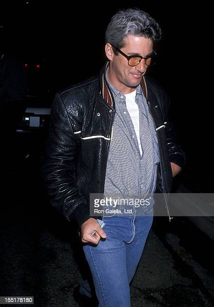 Actor Richard Gere attends John Reid's Birthday Party on September 9 1989 in Beverly Hills California