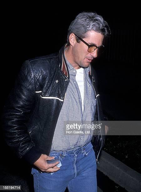 Actor Richard Gere attends John Reid's Birthday Party on September 9 1989 in Beverly Hills California