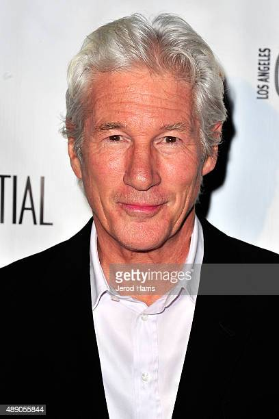Actor Richard Gere attends Los Angeles Confidential magazine celebrates the October Issue with Time Out of Mind Star Richard Gere at AKA Beverly...