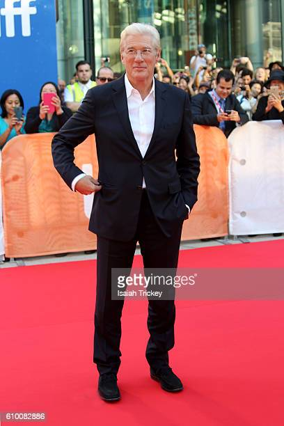 Actor Richard Gere attends 'Norman The Moderate Rise and Tragic Fall of a New York Fixer' premiere during the 2016 Toronto International Film...