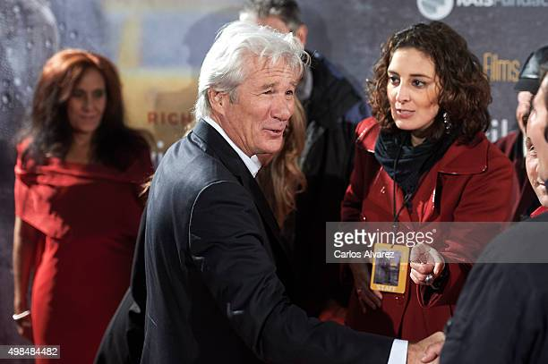 Actor Richard Gere attends the 'Invisibles' charity premiere at the Callao cinema on November 23 2015 in Madrid Spain
