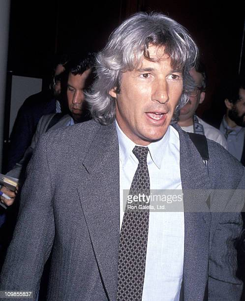 Actor Richard Gere attends the New York Lawyers Alliance for World Security Annual Peace Award Salute to His Holiness the XIV Dalai Lama on April 27...
