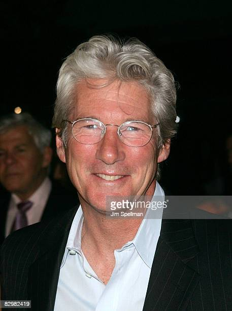Actor Richard Gere attends the premiere of Miracle at St Anna at Ziegfeld Theatre on September 22 2008 in New York City