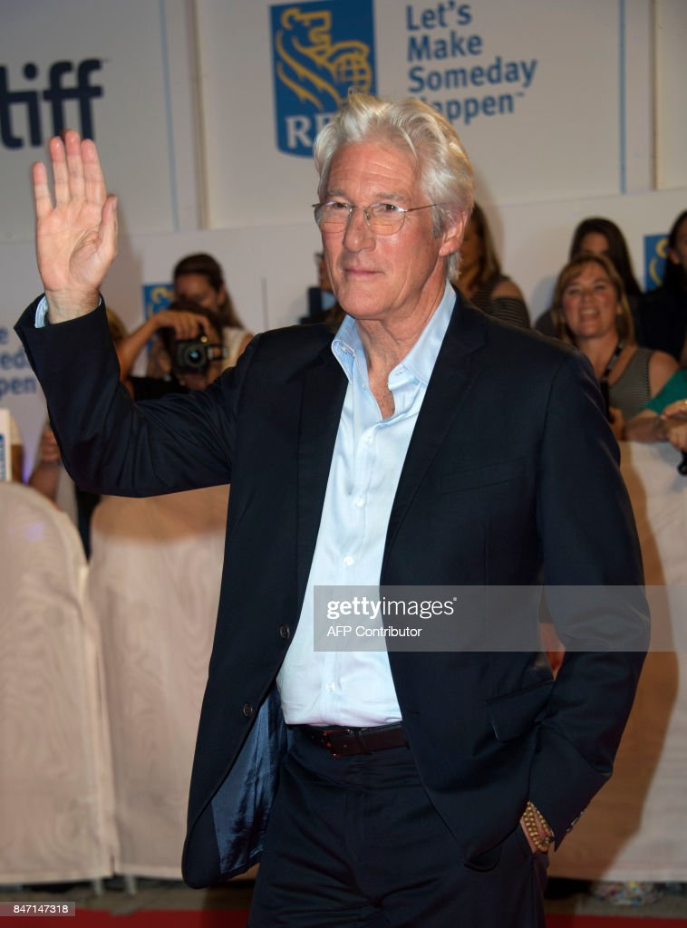 Actor Richard Gere attends the premiere of 'Three Christs' during the 2017 Toronto International Film Festival September 14, 2017, in Toronto, Ontario. /
