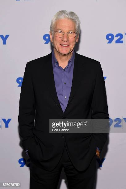 Actor Richard Gere attends the Reel Pieces Screening of 'Norman The Moderate Rise And Tragic Fall Of A New York Fixer' at 92nd Street Y on March 23...