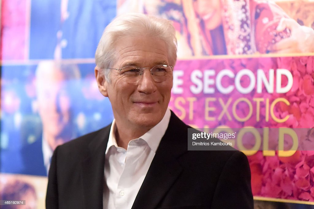"""The Second Best Exotic Marigold Hotel"" New York Premiere : ニュース写真"