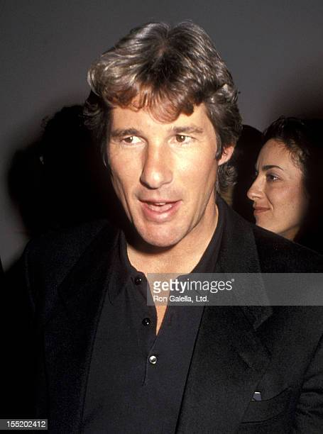 Actor Richard Gere attends 'The Year of Tibet Portfolio' Opening Night Exhibition to Benefit The Tibet House on November 27 1990 at the Fahey/Klein...