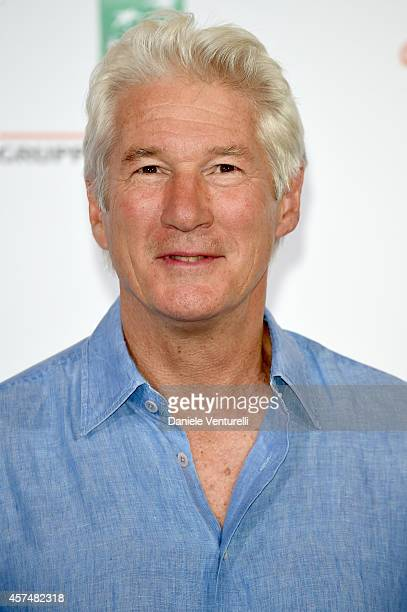 Actor Richard Gere attends 'Time Out of Mind' Photocall during the 9th Rome Film Festival at Auditorium Parco Della Musica on October 19, 2014 in...